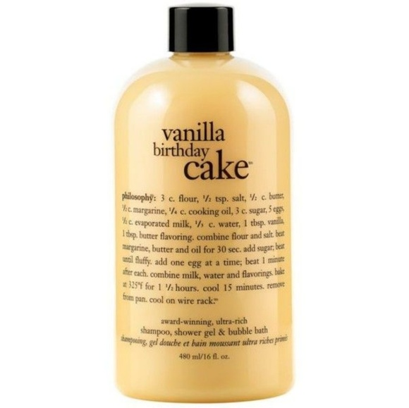 New Philosophy Vanilla Birthday Cake Body Wash